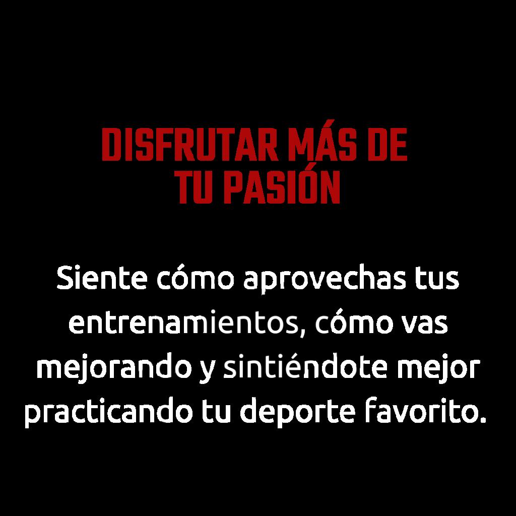 Disfrutar de tu pasión