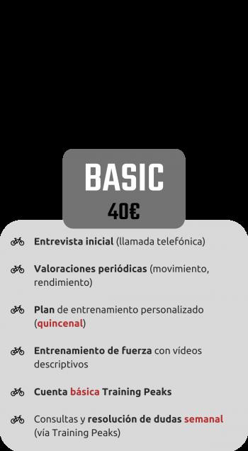 Tarifa Basic